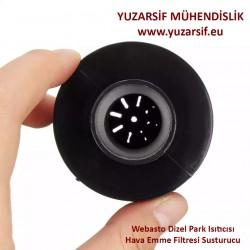 Webasto Dizel Park Isıtıcısı Hava Emme Filtresi Susturucu